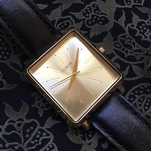 Nixon Gold Square Watch